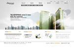 高楼大厦网页