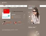 女性时尚网页