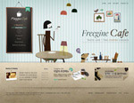 咖啡馆网页