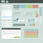 网页UI设计模板
