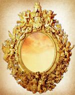欧式古典镜子