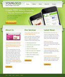 绿色的手机网页