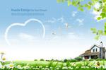 自然春天风景