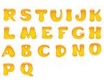 果冻质感字母