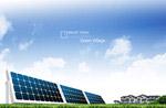 太阳能环保概念