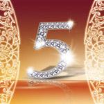 钻石5字设计