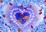 浪漫爱心情人节