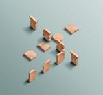 立体木质文字