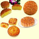 中秋节月饼图