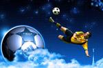 足球运动创意设计