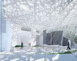艺术展厅模型