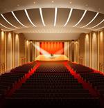 大型演奏厅模型