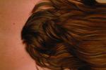 棕栗色头发