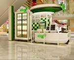 商场大厅柜台模型