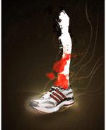 阿迪达斯跑步鞋