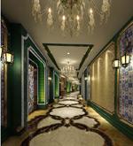 洗浴城走廊模型