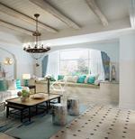 地中海风情客厅