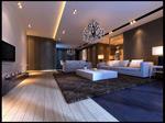 简约客厅模型