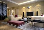 家居艺术客厅模型