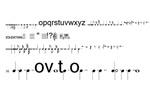 五线谱字体