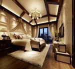 精致卧室模型