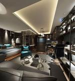 现代商务卧室