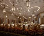 欧式宴会厅模型