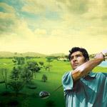 高尔夫球运动人物