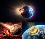 陨石撞击地球