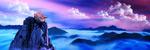 大气山水风景