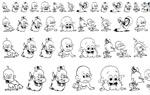 儿童卡通字体