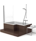 l型浴缸模型