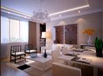 餐厅和客厅模型