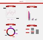扁平UI网页素材包