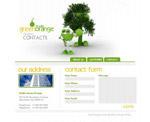 绿色网页设计