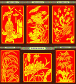 中国传统吉祥花纹
