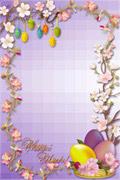 复活节彩蛋边框
