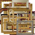 欧式镜框素材