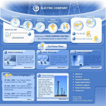 科技工业网页模板