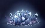 钻石水晶矿石