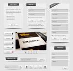 简洁网页模板