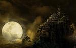 月光下的密山城堡