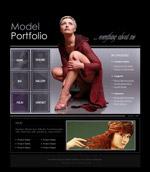 酷炫模特网页