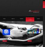 时尚泳装美女网页