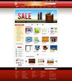 购物网站模板