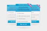 网页公告牌设计