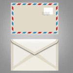 简洁信封设计
