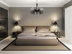 卧室里的大床