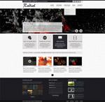 黑色系网页设计