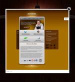 简约网站模板